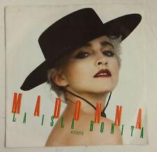 """Madonna La Isla Bonita Single 7"""" UK 1987"""