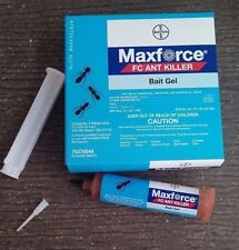 2 Tubes Maxforce FC Ant Control Bait Gel Kill Argentine Odorous House Ghost Etc.