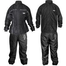 Max5 Motorbike Waterproof Rain Suit Jacket & Trouser Set Breatable Hoodie Pants
