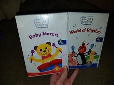 LOT OF 2 Baby Einstein DVD-World of Rhythm & Baby Mozart BRAND NEW