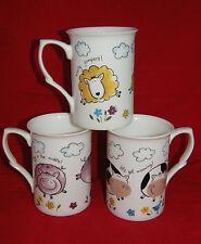 BN Fine Bone China Boxed Cow Mug, Sheep Mug, Pig Mug, Farmyard Mug, Farm Gift