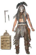 "NECA Lone Ranger TONTO 7"" 1:10 western indian action figure 100% Complete Disney"