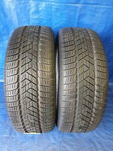2 x Winterreifen 255 55 R20 110V XL Pirelli Scorpion Winter DOT 16/17 NEU