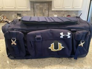 Under Armour Storm Undeniable Cordura Range 53L Duffle Bag Navy Travel Day Rock