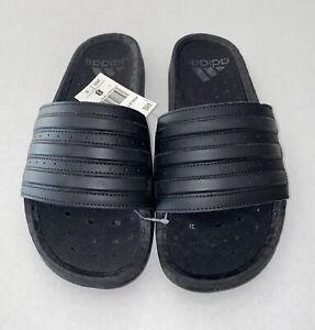 Adidas Adilette Boost Slides Triple Black Men's Size 8 | Women's Size 9.5 NWT