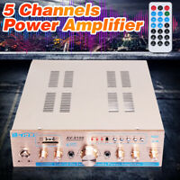 920W 5 Channel Car Home bluetooth HIFI  Audio Power Amplifier Amp Stereo Speaker