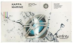 "Infinity KAPPA 1010M 10"" Marine Subwoofer | 300W RMS - White *KAPPA1010MAM"