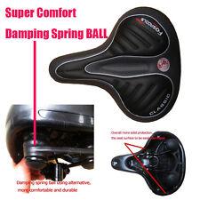 Upgraded Wide Big Bum Shape Comfort Bike Seat Cushion Bicycle Cruiser Saddle AU