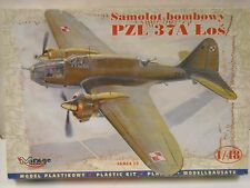 Marage Hobby Samolot Bombowy PZL 37A Lo's 1:48 scale model airplane kit #48131
