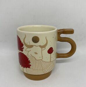 Starbucks 2021 Chinese New Year of Ox Ceramic Coffee Mug New