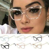 Modische Damen Cat-Eye Brillengestell Unisex Herren Brillengestell Retro Brille