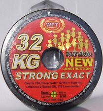 (0,17€/1m) WFT KG STRONG EXACT geflochtene Schnur 480m 0,22mm 32kg