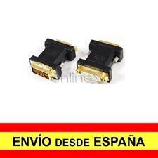 Adaptador Prolongador DVI-I (24+5) Macho a DVI-I (24+5) Hembra a1686