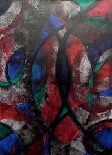 "Acrylbild abstrakte Malerei Acrylmalerei Gemälde    Acryl ""Novemberfantasie"""