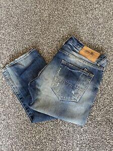 PRPS Blue Slim Fit Jeans 31R 31x32 Designer RRP £350