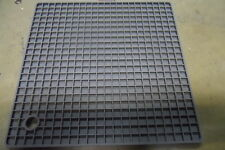 Industrial heat resistant anti vibration silicone mat free post 17cmx17cmx8mm.