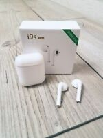 Brand New In Box Wireless Bluetooth Earbuds White i9s Sport 5.0 Headphones Gift