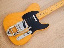 2002 Fender Telecaster '52 Vintage Reissue Butterscotch, Bigsby & V neck, Japan
