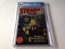 STRANGE TALES 69 CGC 3.5 5TH DIMENSION MAN IN IRON BOX STEVE DITKO ATLAS COMICS