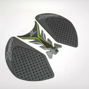 Center Tank Pad + Side Pad Gas Knee Grip Protector For Kawasaki Z650