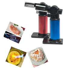 BUTANE GAS FUEL MINI HAND HELD HANDHELD BLOW TORCH BLOW CULINARY TORCH TOOL