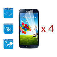4 x Screen Cover Guard Shield Film Foil For Samsung Galaxy S4 Mini i9190 i9195
