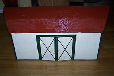 toy doll house barn garage hand made wood
