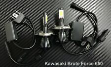 LED Kit High Power H4 Headlight Lights Bulbs Kawasaki Brute Force 650 2005-2013