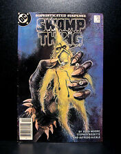 COMICS: DC: Saga of the Swamp Thing #41 (1980s) - RARE (batman/alan moore/flash)