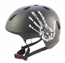 "Sport Direct™ ""The Hand™"" Black Bicycle Bike Cycle BMX Helmet"
