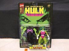 "The Incredible Hulk SHE HULK 6"" Action Figure No. 43406 Gamma NEW 1996 ToyBiz"