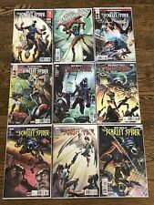 Ben Riley: The Scarlet Spider (2017) 9 Issue Lot #1 5 11 12 18 19 20 23 24 NM