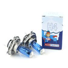 2x H4 55w Super White Xenon Upgrade HID Main High/Low Dip Beam Headlight Bulbs