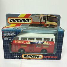 Matchbox Nestle Milkybar Bus No. K-15 Boxed