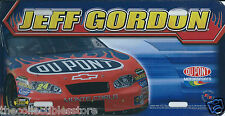 JEFF GORDON DUPONT MOTORSPORTS RACING REFLECTIONS NASCAR METAL LICENSE PLATE