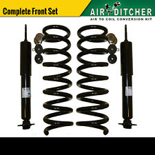 1990-2000 Lincoln Town Car Front Air Bag to Coil Springs + Shocks Conversion Kit