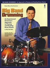 Ray Von Rotz Big Band Drumming Learn to Play Drum Chart Rock Music Book & CD