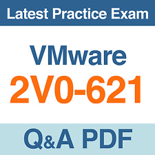 VMware Certified Professional 6 Practice Test 2V0-621 Exam Q&A PDF