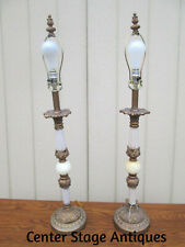 57164 Pair Decorator Table Lamps