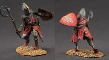 Tin toy soldiers  painted 54 mm medieval knight