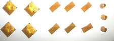 Pearl Warm Gold Roof Tile Slope 47457 3048 4 LEGO SET 7094 7627 8823 7327 70728