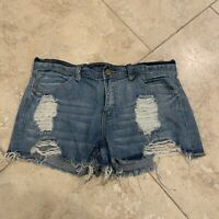 Forever 21 High Distressed Shorts Size 25