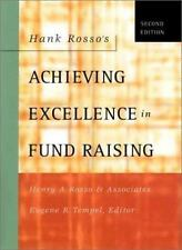 Hank Rosso's Achieving Excellence in Fund Raising HC Business