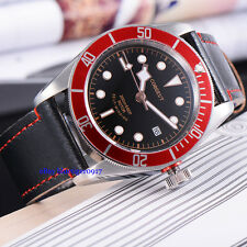 Japan Miyota Movement Sapphire Glass 41mm Men Automatic Waterproof Watch Parnis