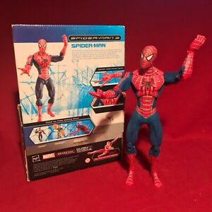 "Marvel Spider-Man 3 2007 Movie 10"" DELUXE SPIDER-MAN FIGURE *CLASSIC COSTUME*"