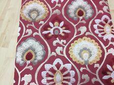Jane Churchill Fabric Orissa Red/Gold