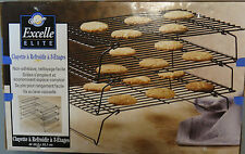 WILTON EXCELLE Elite 3-Tier CAKE COOLING RACK STACKABLE
