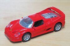 MAISTO 1:43 Red Ferrari F50 1995 in excellent condition
