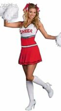 Sexy Ladies Cheerleader Costume Fancy Dress Hen Party Cosplay