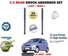 FOR DAIHATSU CHARADE 1.0 2003-2007 2X REAR LEFT + RIGHT SHOCK ABSORBER SHOCKERS